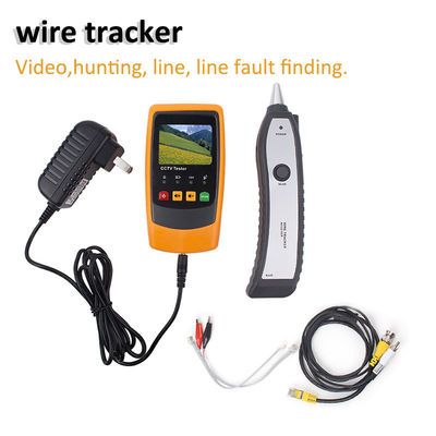 RJ45 RJ11 Wire Tracker Network Monitoring Cable Tester LCD Wire Fault Locator LAN Network Coacial BNC USB Wire Tracker
