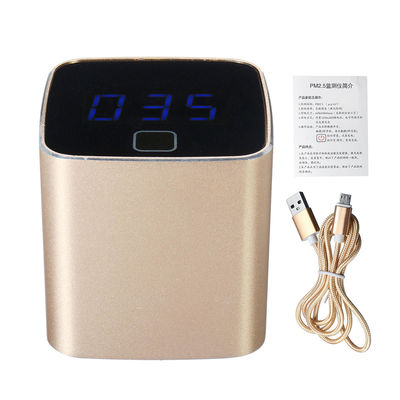 Mini PM2.5 Detector Air Quality Tester Particulate Meter Monitor Rechargeable