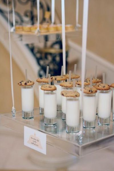 chocolate chip cookies shooters