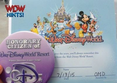 Here's a little-known hint that has a fulfilling return ~ Become a Citizen of Walt Disney World! There's a little bit of brain power involved, as you are tested on your Disney knowledge, but to gain Citizenship at WDW is totally worth it! I fi...