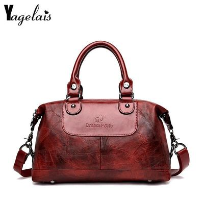 Women Handbag Shoulder Bag Top-Handle Tote Bags 2018 New Ladies Messenger Bag $53.80