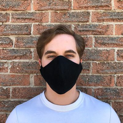 100% Linen face mask with elastic ear loops | Three layers of linen fabric and filter pocket | Washable and Reusable $19.99