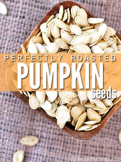 Learn the simple trick to have perfectly roasted pumpkin seeds - every time. Works for squash seeds too, and makes a healthy and very frugal snack!