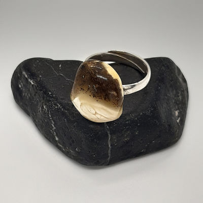 Baltic Amber 925 Sterling Adjustable Rings £39.95