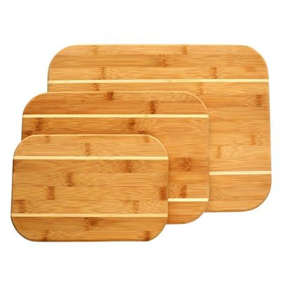 Gibson Home Dewport 3 Piece Bamboo Cutting Board Set $27.87
