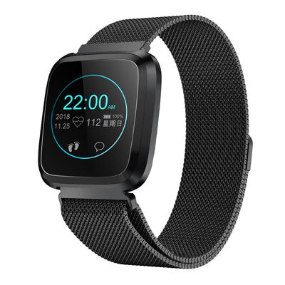 Bakeey L18 Milanese 24-hour Heart Rate IP68 Brightness Control Sport Mode Multi-language Smart Watch