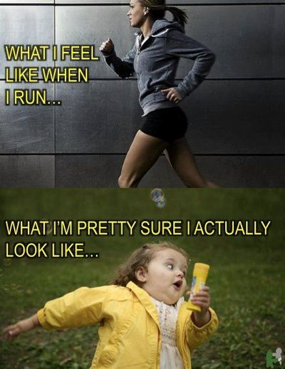 this is what i look like running. the bottom one.