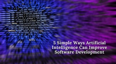 Artificial InArtificial Intelligence has been dominating technology trends for a long time now. It has impacted retail, Finance, healthcare, technology, security, and many more industries worldwide. Here are 5 ways AI can improve software development.tell...