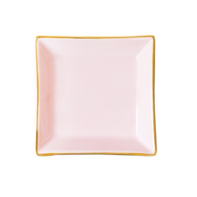 Pink Square Jewelry Dish @The Lavender Lilac