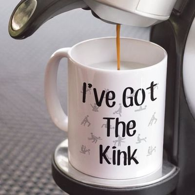 I've got the kink a sexy ,dirty rude vulgar white ceramic coffee mug gag gift| batchelor party |batchelorette party | $15.95