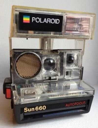 the polaroid sun 660 autofocus camera was first released in great photos juxtapost. Black Bedroom Furniture Sets. Home Design Ideas