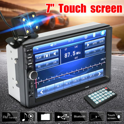 7018B 7Inch 2Din Car MP5 Player Touch Screen Stereo Radio MP3 FM AM USB bluetooth with Rear View Camera