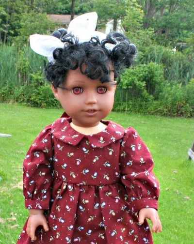 Prairie Dress fits American Girl Doll and other 18 Inch Dolls $15.00