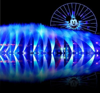 Not only is Walt Disney's Wonderful World of Color show the most powerful entertainment spectacle at Disneyland, it is a blast to photograph. I had the pleasure