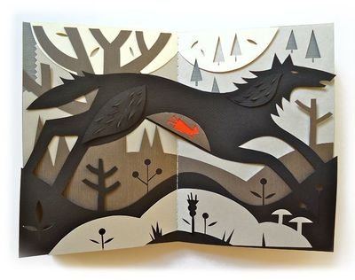 This summer, Tracy recreated some of her favourite fairy tales in paper. You can see these and some of her paintings at the Uxbridge Studio Tour, September 17th