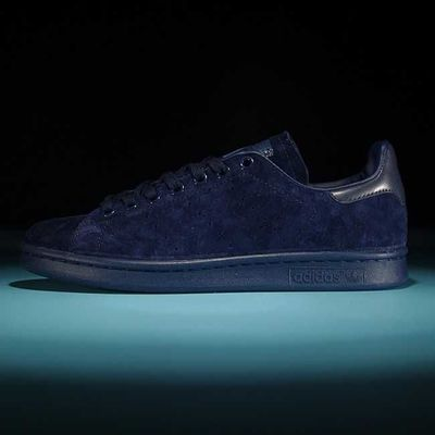 Women/Men Adidas Originals Stan Smith Blue adidas-yeezyboost350.com