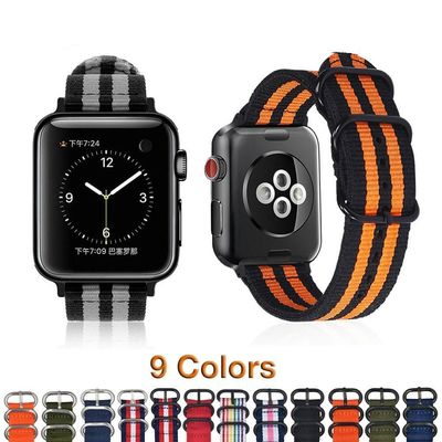 NATO 38mm 40mm/42mm 44mm iWatch Strap for Series 4 3 2 1 $18.99