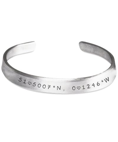 Big Ben, London, Wrist Cuff Stamped Aluminum Bracelet $21.45