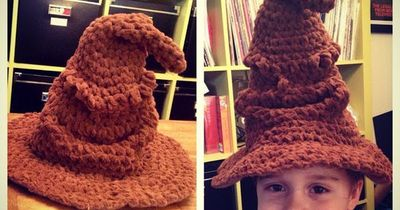 CRAFTYisCOOL  Free Pattern  Harry Potter Sorting Hat!   crochet ... ec9762edd39