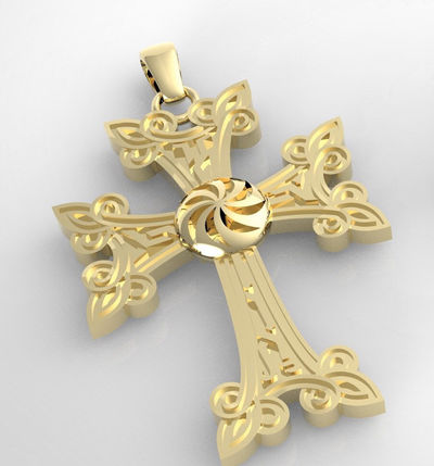 Armenia cross 14 Karat white/yellow/rose gold 3 different sizes < #jewelry #oneofkind #specialorder #customize #honest #integrity #diamond #gold #rings #weddingband #anniversary #finejewelry #salknight