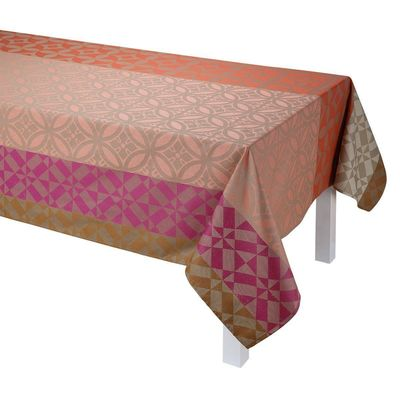 Mosaïque Enduite Coated Table Linens in Floor Tile $190.00