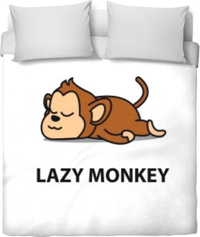 RODC Lazy Monkey Duvet Cover $120.00