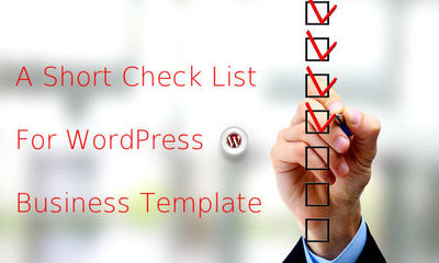 Are you going to revamp your business site with WordPress theme? Do you have any idea about what should be considered before purchasing theme for your business? If not, then go through this post and check out some important points that you have to conside...