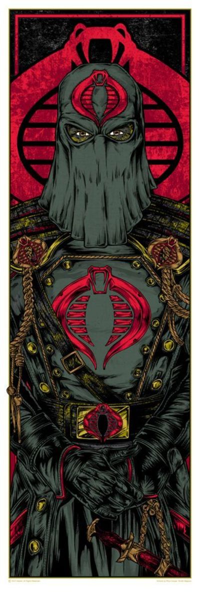 Watched G.I. Joe alot when I was a youngster. Cobra Commander