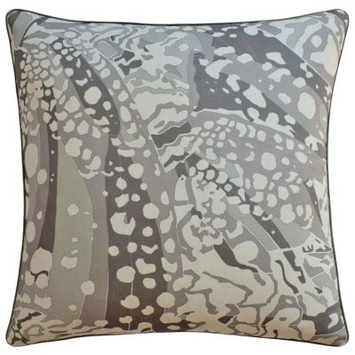 Puccini Grey Throw Pillow $282.00