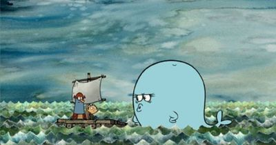 """The Marvelous Misadventures of Flapjack"" (available on iTunes)--a great source of cute nautical illustration"