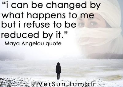 Maya Angelou Quote Resilience Strength Empowering
