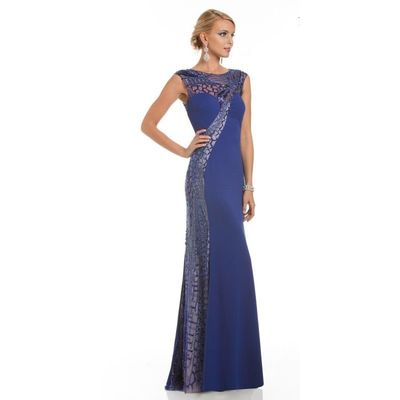 Lara Dresses - 32554 in Royal - Designer Party Dress & Formal Gown