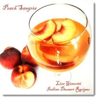This Peach Sangria Is One Of Those Italian Drinks Thats Chea Tasty Drinks Juxtapost