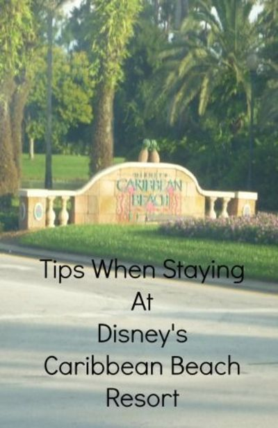 We stayed at Disneys Caribbean Beach Resort in Summer 2014 and Easter 2016. This post is all about how to get the most out of your stay at the resort.
