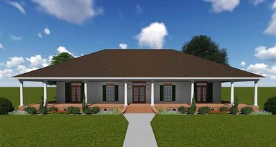 Southern Beauty with Wrap-Around Porch - 83900JW | Architectural Designs - House Plans