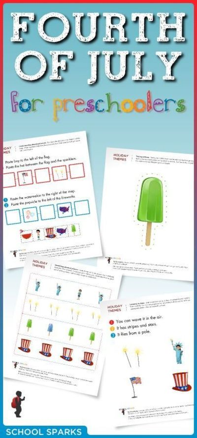 Free Fourth Of July Worksheets To Help Young Children Develo