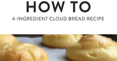 """Cloud bread is easy to make �€"""" it only takes four ingredients, and there's no kneading requires �€"""" and absolutely delicious. What more could you want?"""