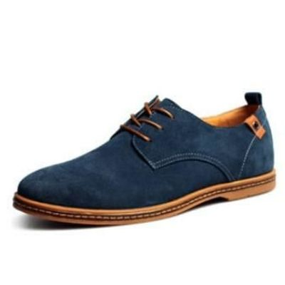 Fashion men casual shoes new spring men flats lace up male oxfords leather $48.07