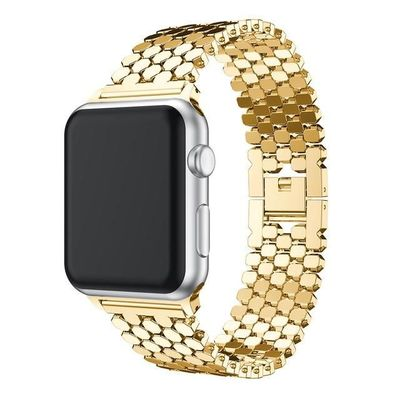 Steel links bracelet For apple watch 42mm/38mm/44mm/40mm iwatch series 4/3/2/1 $31.99