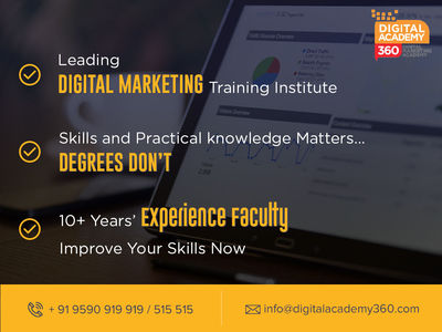 Best Digital Marketing Institute with Certified Trainers. Learn Digital Marketing from Digital Marketing Certified Professionals.