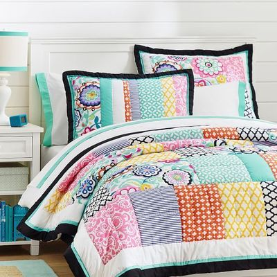 Patch It To Me Quilt + Sham | PBteen