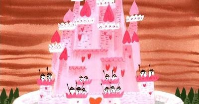 mary blair - concept for 'alice in wonderland'