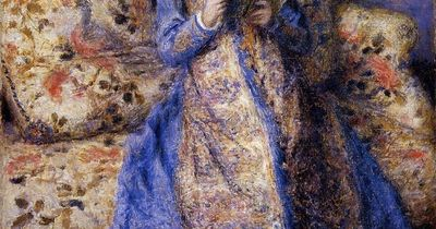 """Camille Monet Reading"", 1872 / Pierre-Auguste Renoir (1841-1919) / Sterling and Francine Clark Art Institute, Williamstown, Massachusetts, USA"
