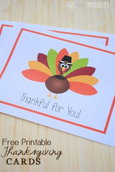 Free printable thanksgiving thank you cards from crazy littl free printable thanksgiving thank you cards from crazy little projects m4hsunfo