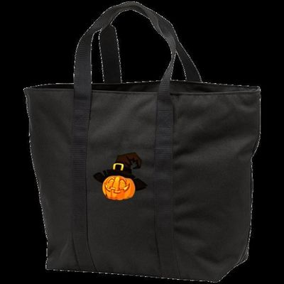 Jolly Jack-o-Lantern, shoulder tote $37.95