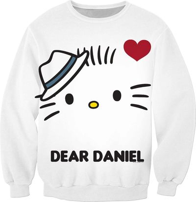 Dear Daniel and Hello Kitty Couples Sweatshirt $65.00