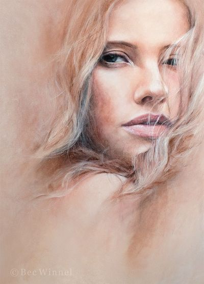 Bannie . Pastel on Paper . 50 x 70 cm . 2010
