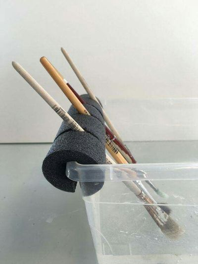 Cleaning brushes