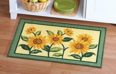 Sunflower Floral Woven Accent Rug 9 99 For The Home