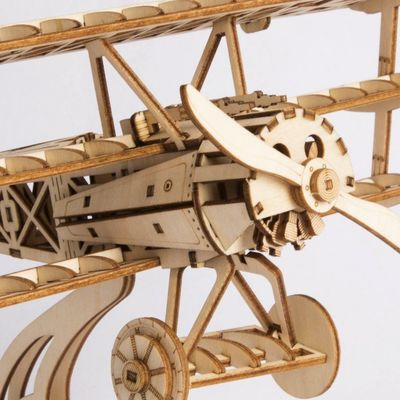 Wood Craft Kits,3D Plane Model, Wooden Puzzle,Home Hobby,Gifts $27.90